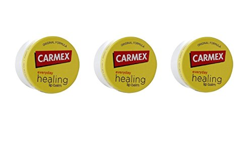 3x CARMEX Lip Treatment - Lippenbalsam im TIEGEL - aus USA