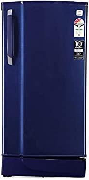 Godrej 190 L 3 Star Inverter Direct-Cool Single Door Refrigerator (RD 1903 EWHI 33 STL BL, Steel Blue, Inverte