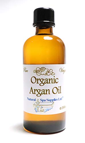 50ml Argan Oil, Virgin Cold Pressed Pure Moroccan Organic, Anti-Ageing Moisturizing Face Oil and Eye Make Up Remover