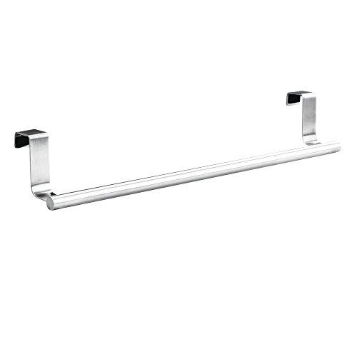 Towel Bar-finish (InterDesign 67020EU Forma Handtuchhalter zum Hängen über die Schranktür, 36cm, edelstahl gebürstet)