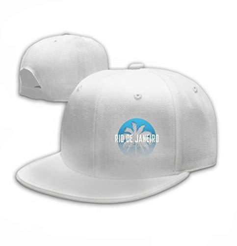 zexuandiy Unisex Mesh Hat Adult Baseball Caps Sunshade Hat Snapback Cap Rio de Janeiro Atlantic Avenue Apparel Design p Rio White