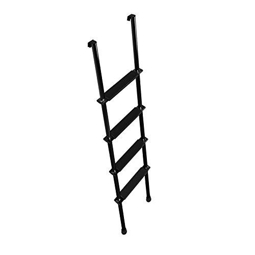 Stromberg Carlson la-460b 152,4cm schwarz Etagenbett Leiter mit Haken Halterung und pressprofile (Schwarze Etagenbett)
