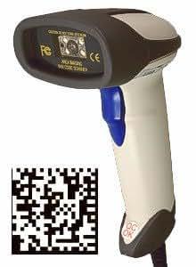 Albasca 2D-Barcode-Scanner B5208N USB Datamatrix QR-Code