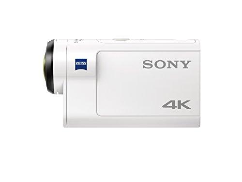 Sony FDR-X3000R 4K Action Cam mit BOSS (Exmor R CMOS Sensor, Carl Zeiss Tessar Optik, GPS, WiFi, NFC) mit RM-LVR3 Live View Remote Fernbedienung, weiß - 2