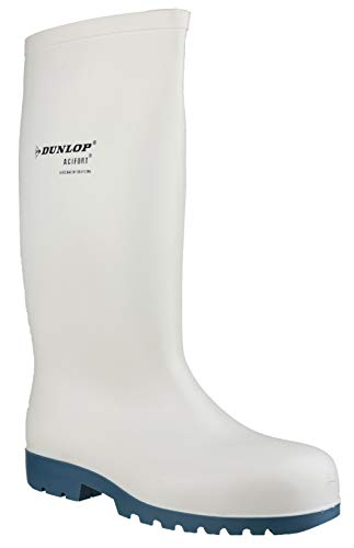 Dunlop Mens HEVEA Acifort Classic Steel Toe Safety Wellington Boots