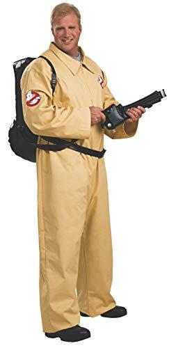 Rubies 3 17628 fc - Kostüm Deluxe Ghostbuster Größe - Ghostbusters Für Erwachsene Plus Kostüm