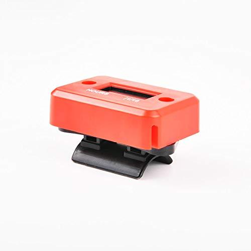 HM006A-BU RunLeader Contaore digitale induttivo,contaore di manutenzione per guida tosaerba Trattore Spaccalegna Barca Motore fuoribordo Generatore marino di inverter ATV Moto da motoslitta