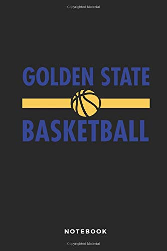 Golden State Basketball Notebook: 6x9 Blank Lined Basketball Composition Notebook or Journal for Coaches and Players por iHoop Publishing