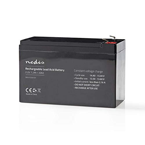 TronicXL - Batteria ricaricabile al piombo 12 V, 7200 mAh, 151 x 65 x 95 mm