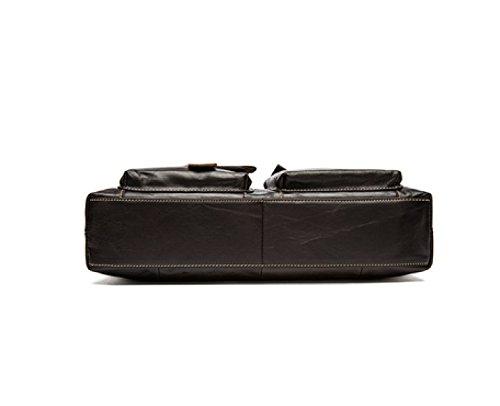 LAIDAYE Männer Handtaschen Männer Business-Paket Aktenkoffer Casual Schultertasche Kuriertasche 1