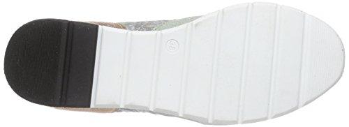 Mjus 607107, Baskets Basses femme Multicolore - Mehrfarbig (Bianco/Laguna/Corda/Candy/Oliva)