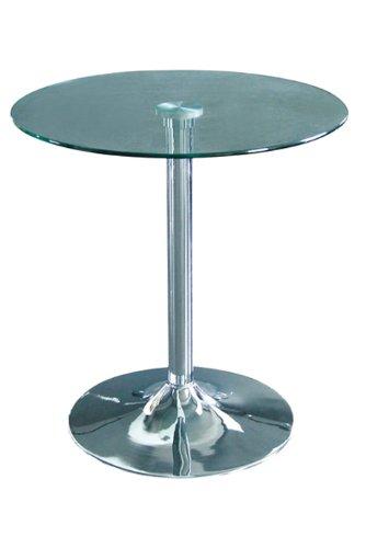 Glastisch Tisch Rund Bistrotisch - M-80408/156