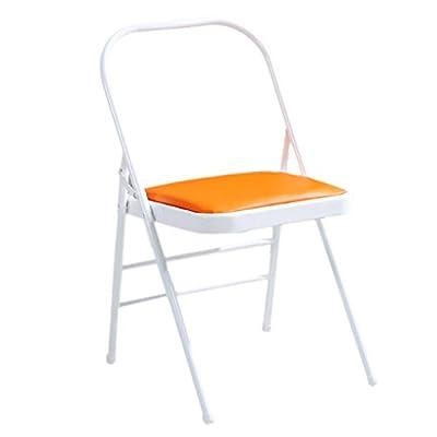 Klappstühle Yoga Stuhl Yoga-Hilfsstuhl Mode faltender Yogastuhl Schmiedeeisen Yoga Stuhl Persönlichkeit Yoga Lounge Stuhl Pilates Yoga Stuhl Dauerhaft Geformt