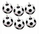 Wilton 2811-9322 - Set velas balón de fútbol, 6 unidades
