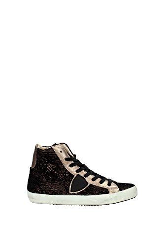 CLHDBQ01 Philippe Model Sneakers Damen Stoff Schwarz Schwarz