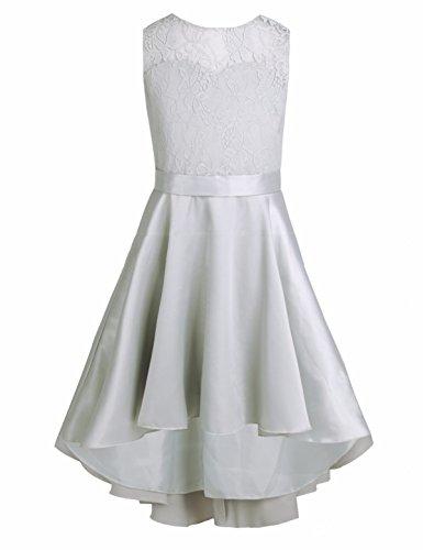Tiaobug Festlich Mädchen Kleider Hochzeit Partykleid Prinzessin Brautjungfern Kleid Blumenmädchen...