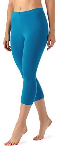 Merry Style Merry Style Damen Leggings 3/4 MS10-144(Blau, 34 (Herstellergröße: XS))