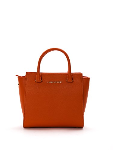 lancaster-paris-womens-52709orange-orange-leather-handbag