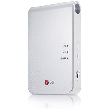 LG Poche photo 2 PD239 Portable Mini imprimante photo mobile (Blanc)