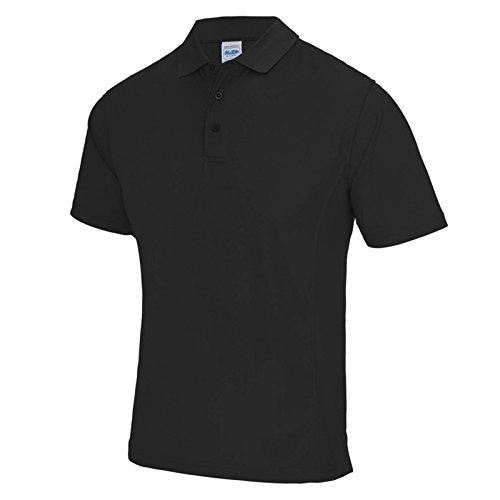 AWDis Herren Modern T-Shirt Jet Black