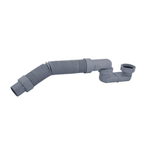Sharplace 425mm Flexible HT Rohr Abwasserrohr Formstücke Abwasser Schlauch DN 50