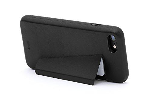 Portefeuille en cuir Bellroy iPhone 8 / 7 Phone Case - 3 cartes Black Black