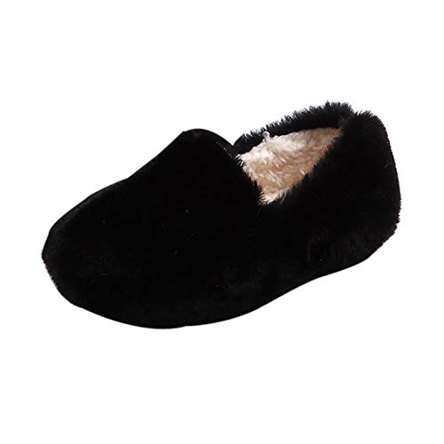 Chaussures Bébé Binggong Sneakers Cartoon Canard Chaud Enfant, en Bas âge BéBé Bottes Princesse Sneaker Enfants Bébé Occasionnel Balle Haricot Chaussures Fluffy Flock Single Casual Chaussures