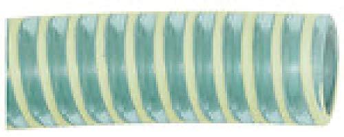 Saug- und Druckschlauch, leichte Ausführung, Temp. -15 °C bis 60 °C, Schlauch-ø 45,8x40 mm, PN bei 23 °C max 5 bar, Rolle à 25 m