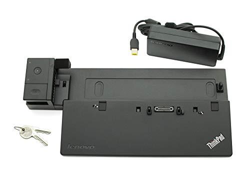 Lenovo Thinkpad Combo (Lenovo Docking Station inkl. Netzteil (90W) Ultra Dock Original ThinkPad T540p (20BF/20BE) Serie (Generalüberholt))