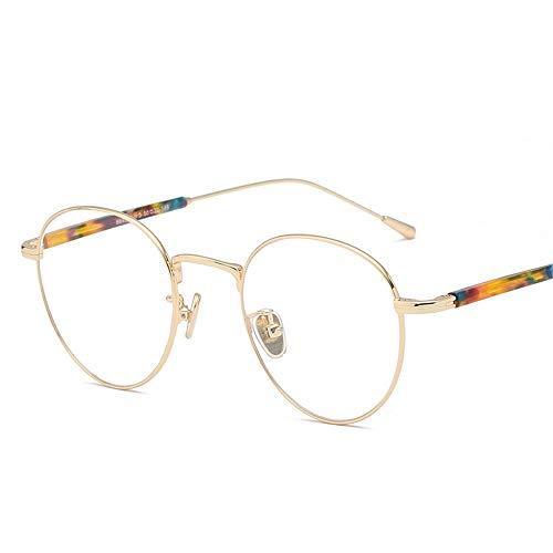 Summer Myopischer Brillentrahmen Quadratischer Rahmen Für Retro -Spektakel -Rahmen,Blaue Box