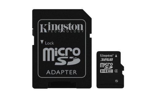 Kingston 8 GB Clase 4 tarjeta de memoria micro SD para Olympia Style (2166) + Adaptador SD