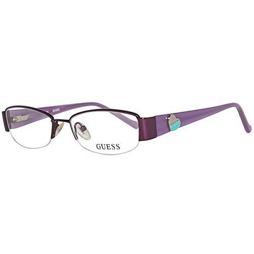 Guess Unisex-Kinder Brille Gu9074 O24 47 Brillengestelle, Violett,