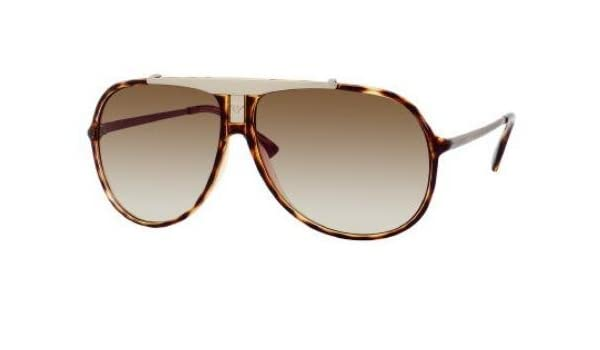 3cd5dd5d7cb Emporio Armani Ea 9568 S 0Zj4 Havana Gold Sunglasses  Amazon.co.uk  Clothing