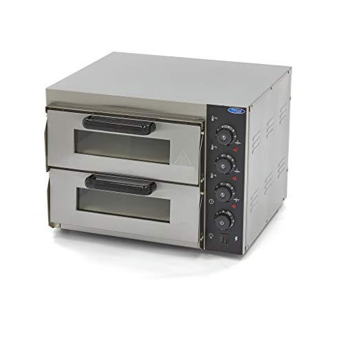 Kompakt Pizza Ofen 2 x 40 cm 230V