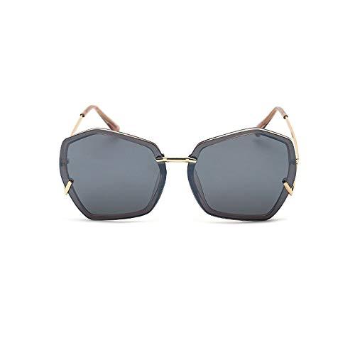 Yiph-Sunglass Sonnenbrillen Mode Damen-Sonnenbrillen einkaufen Super polarisierte Männer Urlaub Unisex Golf Sonnenbrille unregelmäßige Form Brille (Farbe : C4, Größe : Free)