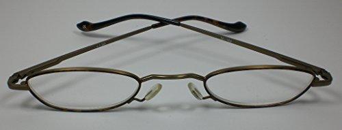 "Preisvergleich Produktbild Elegante moderne Lesebrille Lesehilfe +2, 0 Diop. unisex Metall Flexbügel "" Berkeley & son """