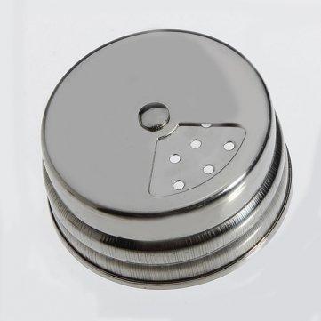Stainless Gewürzstreuer Salz Pfeffer Mehl Cruet Storage Jar Bottle