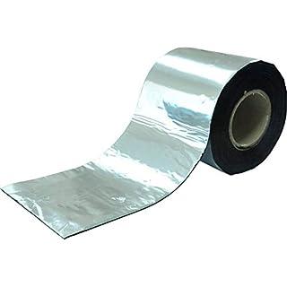 SILISTO Bitumenband Reparaturband 300 mm x 10 Meter, Farbe Alu