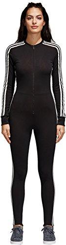 Adidas Stage Suit Trainingsanzug, Damen, Schwarz (schwarz)