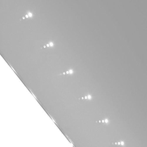 vidaXL Badspiegel Lichtspiegel LED Spiegel Wandspiegel 100x60cm -