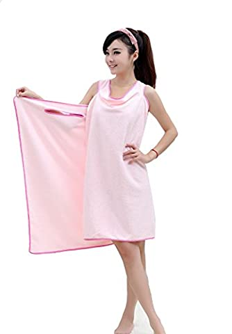 Serviettes de bain pour femmes et filles Peignoir de bain Serviettes de douche Wearable Wrap