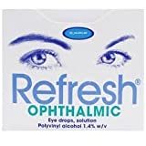 Refresh Ophthalmic Solution 30 x 0.4ml x 3 boxes