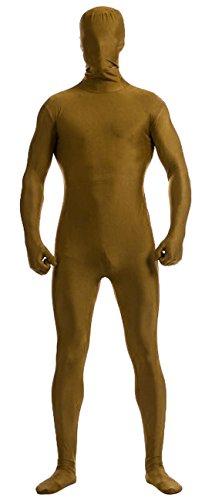 Howriis, Ganzkörper-Lycra-Spandex-Anzug für Erwachsene und Kinder, unisex Gr. Kinder Medium, braun