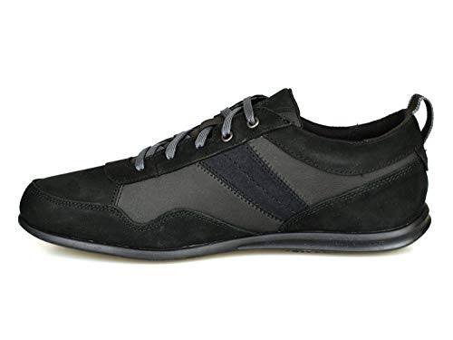 Timberland Pemberton Ox Black Leather Trainers A161E