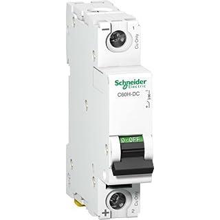 Schneider A9N61510 Mcb Miniature Circuit Breaker C60H-DC 1P 15A, White