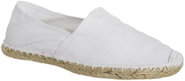 Sonnenscheinschuhe® - Alpargatas de Lona para hombre blanco Weiß  -