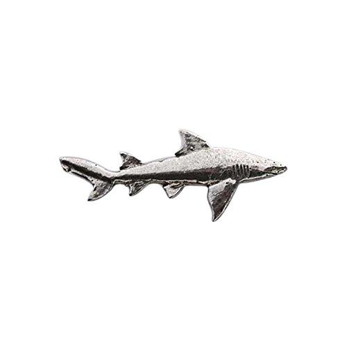 Zinn ~ lemon Shark ~ Anstecknadel/Brosche ~ S124 (Lemon Shark)