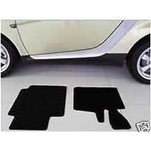 Kit de 2 alfombras para Smart Fortwo 450 LHD , negro