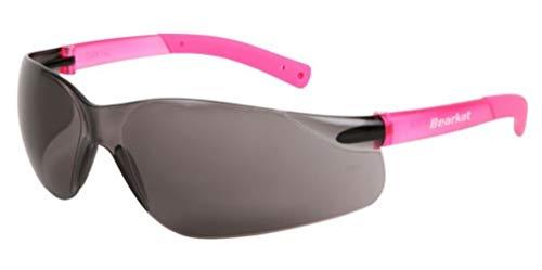 BEARKAT PINK / GREY : Mode Extreme Sports Sonnenbrillen für Kinder Mädchen - 8-12 Jahre - UV400-Schutz 100% UVA/B - Stoßfest und Anti-Scratch