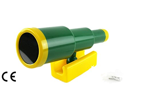 HIKS Products HIKS Kids Childrens Toy Telescope for Climbing Frames, Tree House, Dens amp; Play Houses